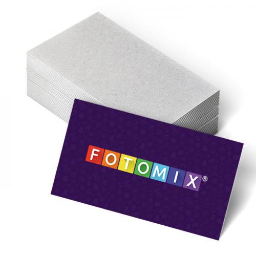 Односторонние глянцевые визитки