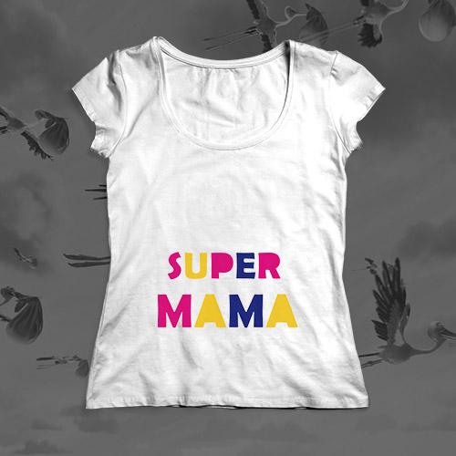 Футболка для будущей мамы «Super Мама»