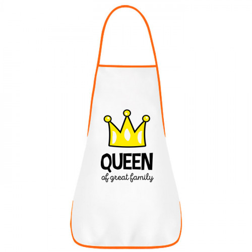 Фартук «Queen of Great Family»