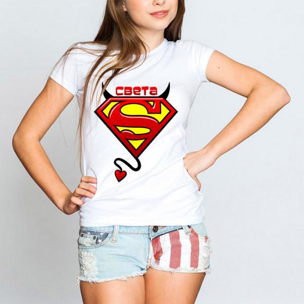 Именная футболка «Света»