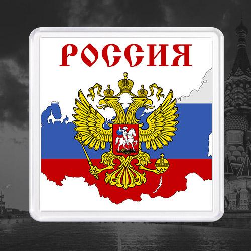 Акриловый магнит «Россия»