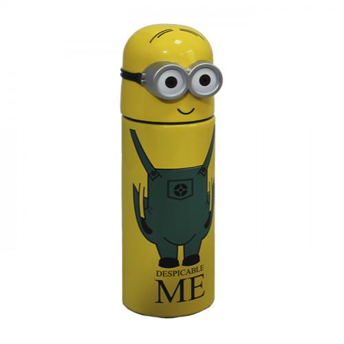 Бутылка My Bottle с чехлом желтая матовая 500 мл