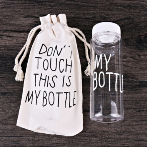 Бутылка My Bottle с чехлом белая 500 мл