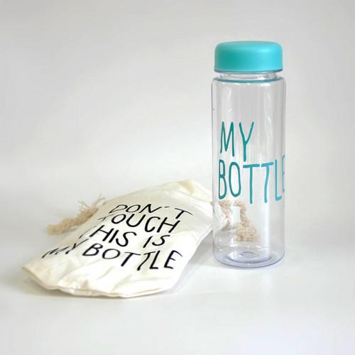 Бутылка My Bottle с чехлом бирюзовая 500 мл