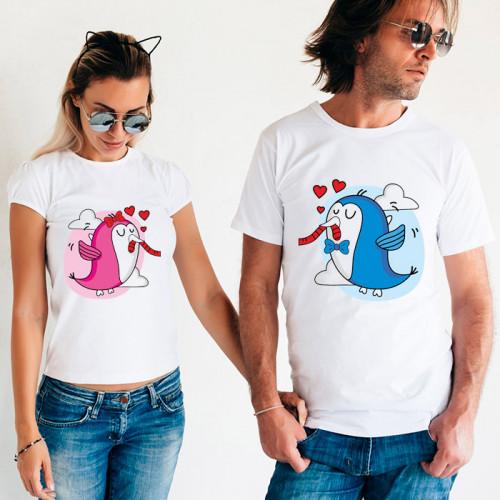 Парные футболки «Птички»