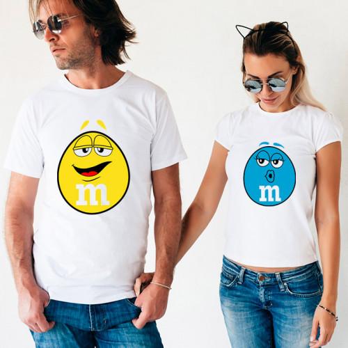 Парные футболки «M&M's»