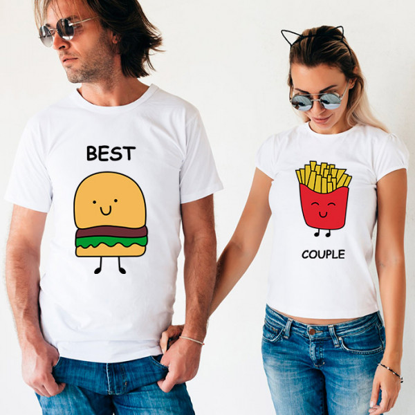 Парные футболки «Best Couple»