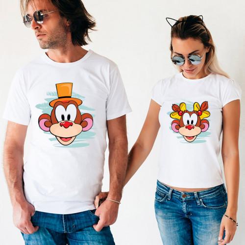 Парные футболки «Обезьянки»