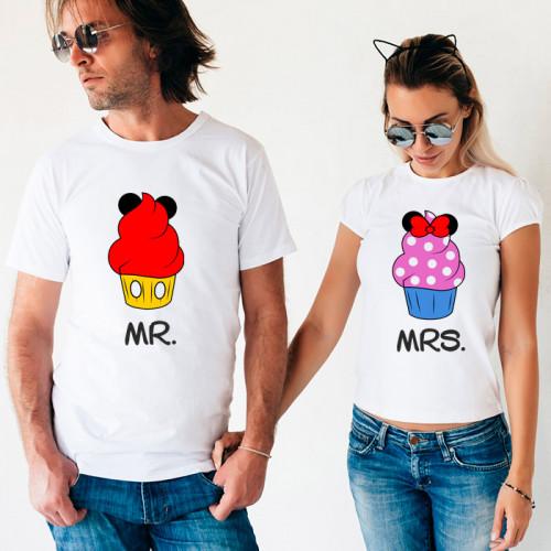 Парные футболки «Mr и Mrs»