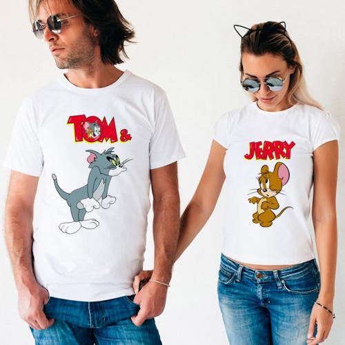 Парные футболки «Tom & Jerry»