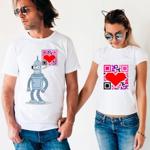 Парные футболки «Бендер»