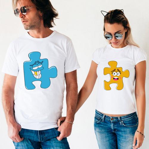 Парные футболки «Smiling Puzzle»