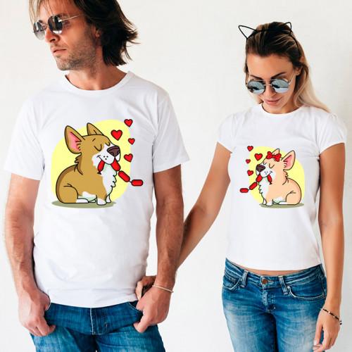 Парные футболки «Песики»