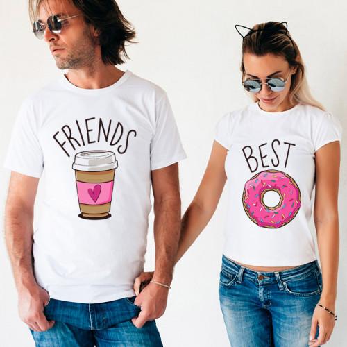 Парные футболки «Best Friends»