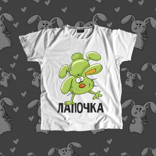Детская футболка «Лапочка»