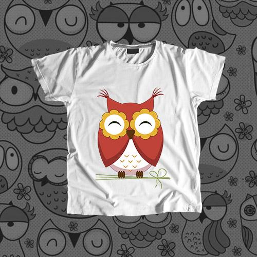 Детская футболка «Сова»