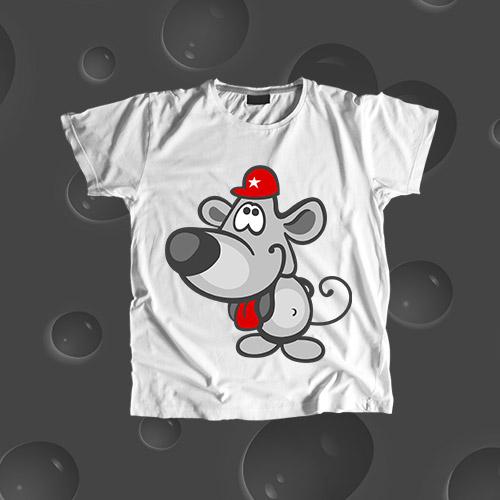 Детская футболка «Мышка»